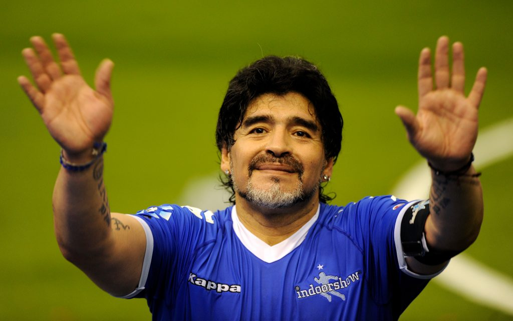 Diego-Maradona-football