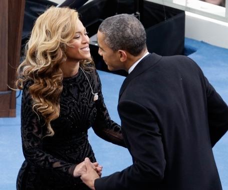 Beyoncé and Barack Obama in a love affair?