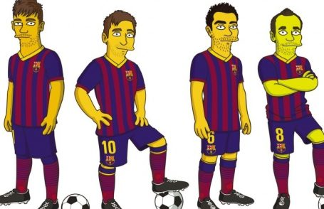 BARCELONA HAVE JOINED THE SIMPSONS