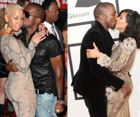 kanye west he finally talks about amber rose and kim