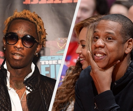 Young Thug I Would Never Buy Jay Z Cd Because Of His Age Trace