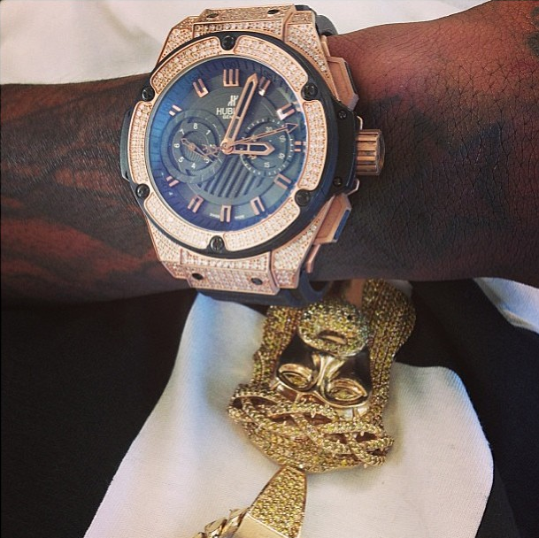 Lil wayne rick ross wiz khalifa birdman here are for Rapper watches