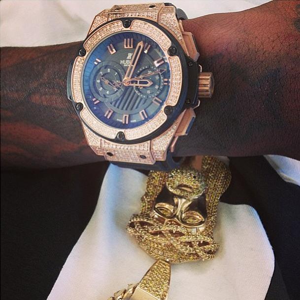 Lil wayne rick ross wiz khalifa birdman here are for Rapper watches
