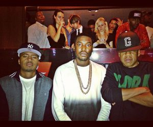 Meek Mill joins forces with rap legends!