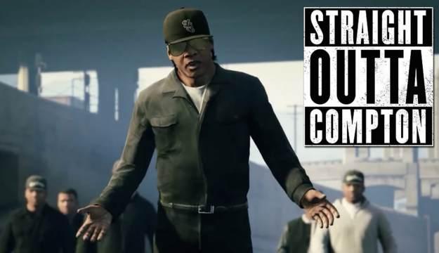 Straight Outta Compton remade in GTA V - TRACE