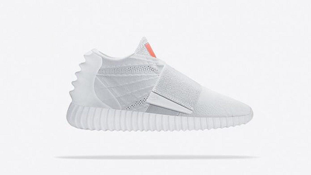 white nike adidas