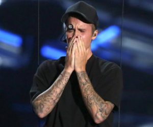 Justin Bieber explains why he cried after his last performance
