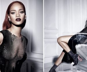 Rihanna flaunts her sexy figure in new Dior shoot
