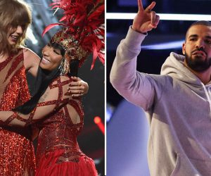 Nicki Minaj let down by Drake but supported by Taylor Swift