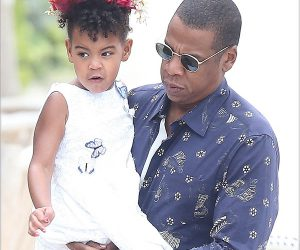 Beyonce Knowles Jay Z , Blue Ivy carter in France  south of France near Cannes,they are going to behave lunch in the lerins island. Pictured: Jay Z , Blue Ivy carter Ref: SPL1128409  160915   Picture by: Splash News Splash News and Pictures Los Angeles:310-821-2666 New York:212-619-2666 London:870-934-2666 photodesk@splashnews.com
