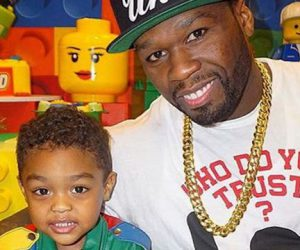 50 Cent throws a crazy lego-themed  birthday party for his son