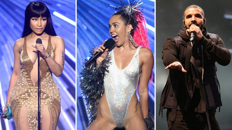 Drake takes sides with Miley Cyrus in Nicki Minaj feud !