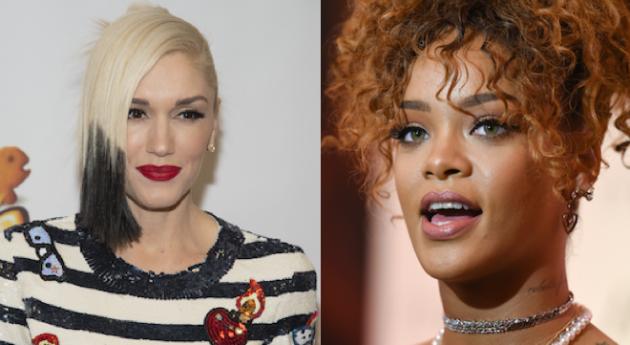 Rihanna allegedly being dissed by Gwen Stefani !