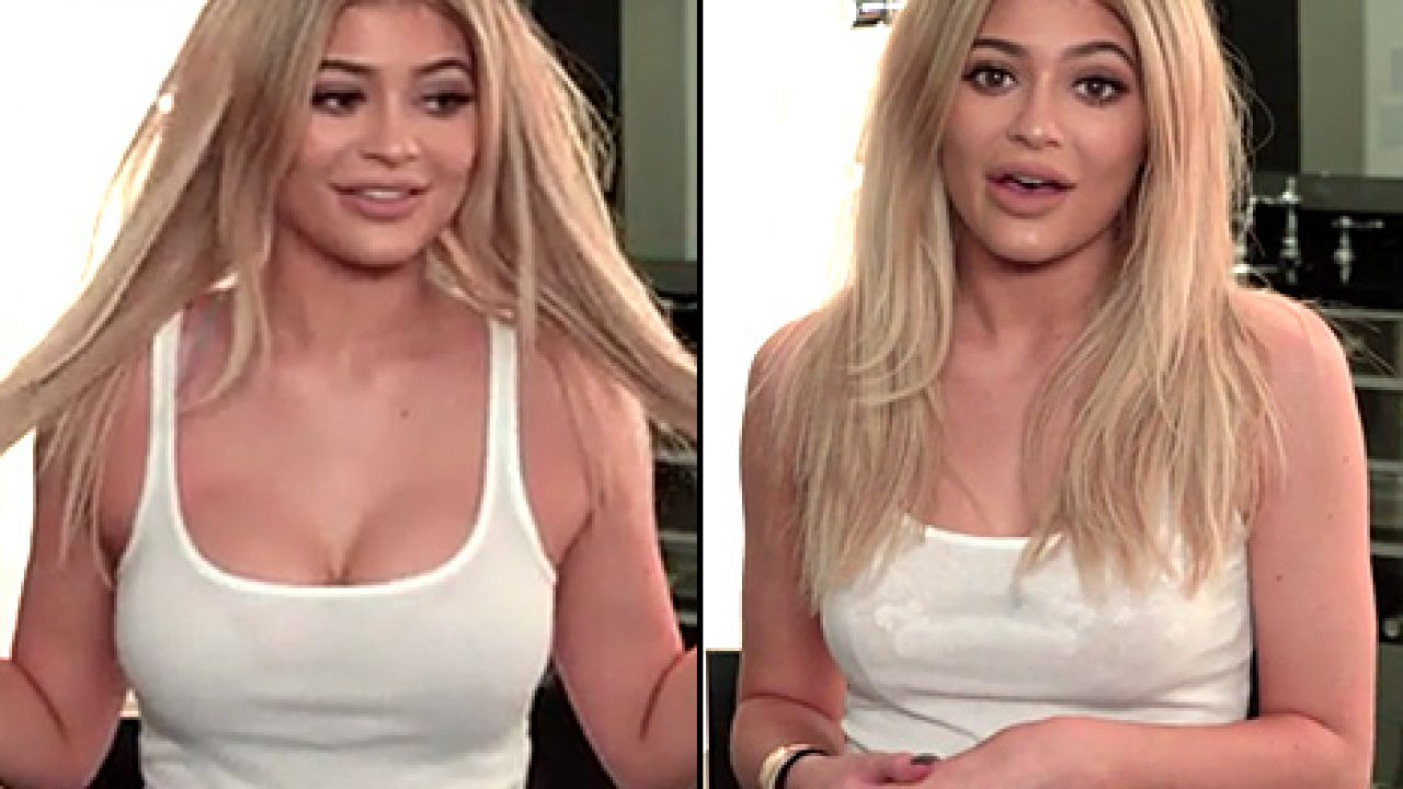 Boobs kylie jenner Kylie Jenner's