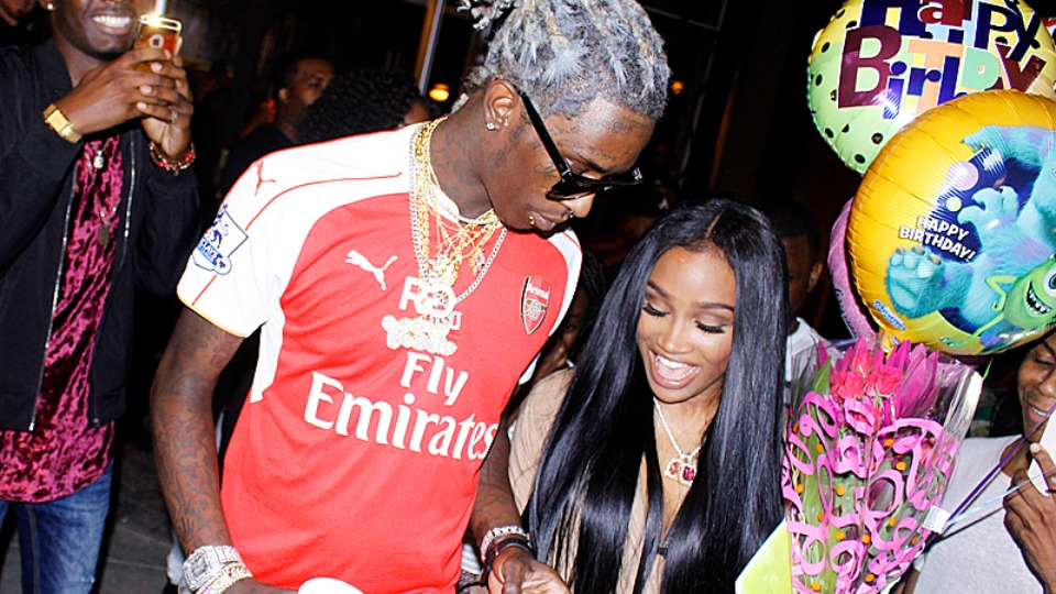 young thug birthday Young Thug celebrates fiancee's birthday party   TRACE young thug birthday