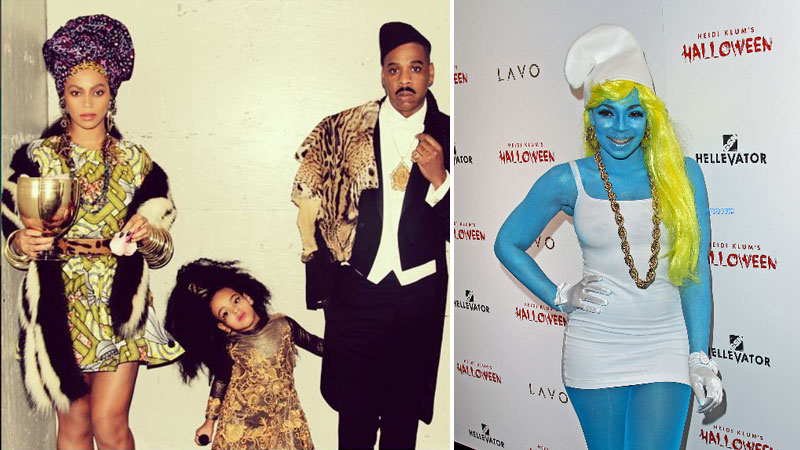 What Halloween Costumes Celebrities Chose In 2015
