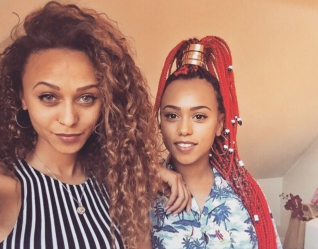 My mother is an incredibly beautiful black Swati woman and my father is a handsome British man. The combination of the two divine worlds created the caramel queens that are myself and my sister.