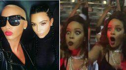 19 priceless reactions to Amber Rose & Kim Kardashian's selfie