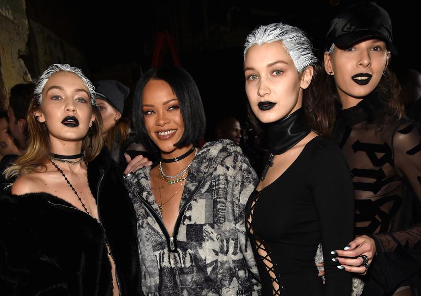 Rihanna unveiled her Fenty x Puma line during NY Fashion