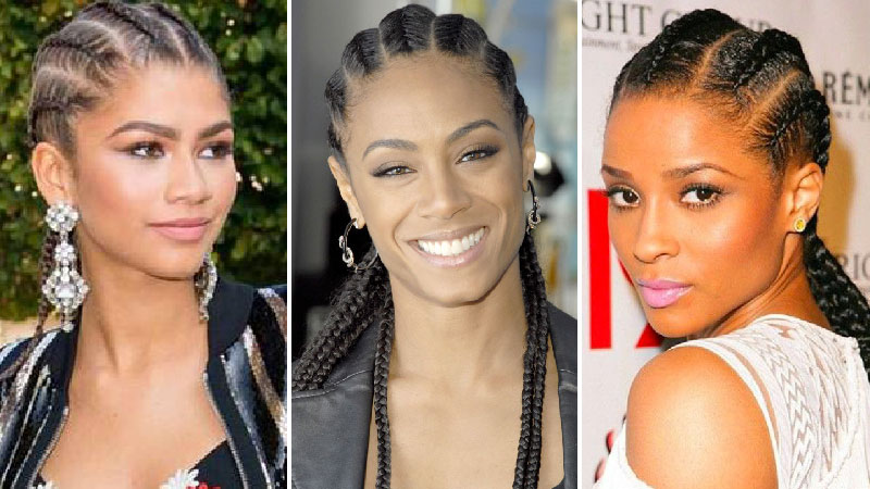 10 celebs with cornrows who prove the kardashians didn t invent