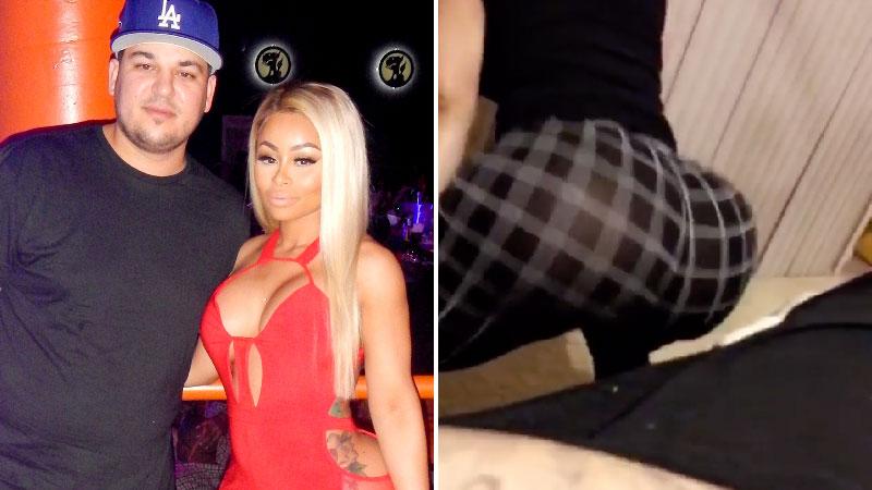rob kardashian big ass