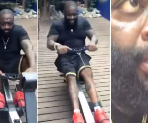 Rick Ross is putting strenuous effort into losing weight