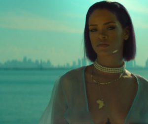 Rihanna gets dangerous in her cinematic video for