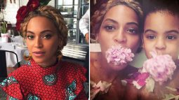 Beyoncé shares some flower-filled artsy family pictures