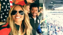 Ciara plays soccer with fiancé Russell Wilson