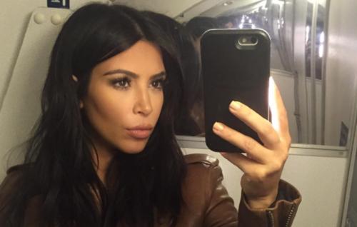 Kim Kardashian just shared a cute new picture of Saint