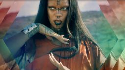 Rihanna takes us to outer space in the video for