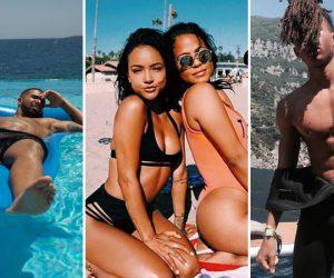 Drake, Karrueche, Jaden Smith : celebs share sun-filled pictures of their summer