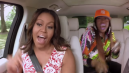 The First Lady goes for a ride in the popular Late Late Show sketch