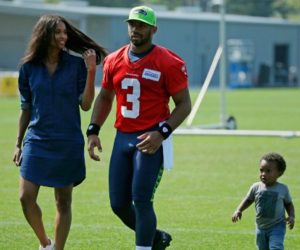 """Baby Future calling Russell Wilson """"papa"""" sets off Twitter"""