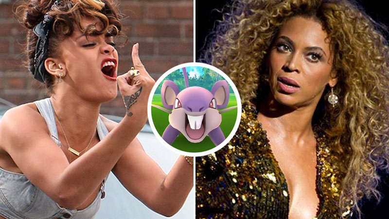 Beyoncé and Rihanna aren't cool with Pokemon Go taking over their shows