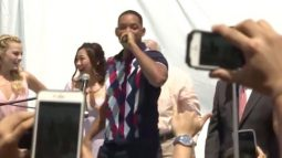 Watch Will Smith bring back the 90's in Miami