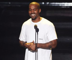 Watch Kanye West introduce his new video through an epic speech!