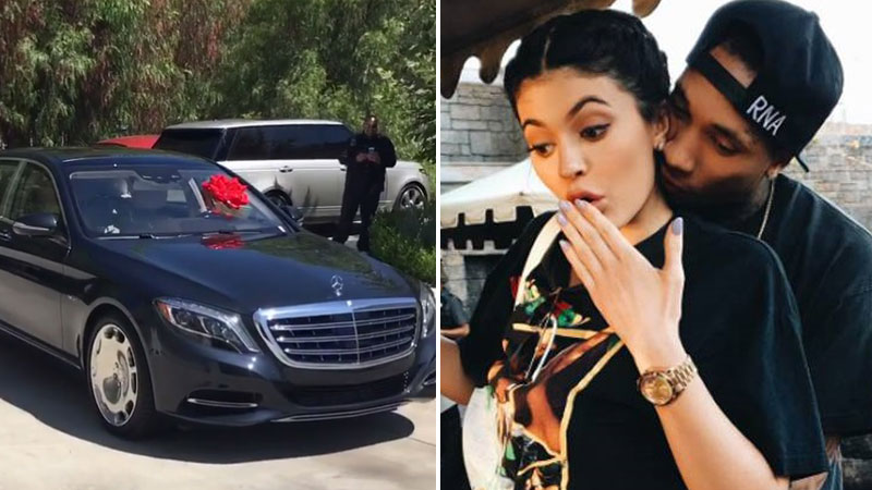 Tyga Buys Kylie Jenner A New Car For Her 19th Birthday Trace