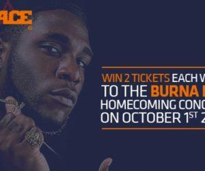 Burna Boy set to light up London on October 1st 2016