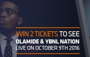 Olamide & YBNL performing live in London October 9th!