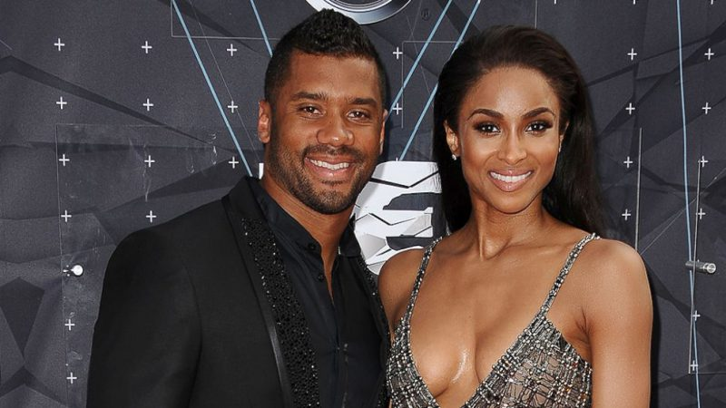 Gongrats to Ciara and Russel Wilson !