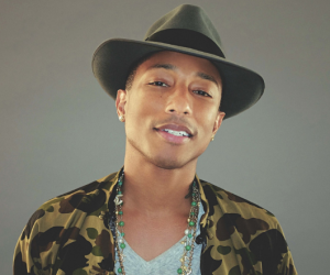CONGRATS are in order for Pharrell Williams !