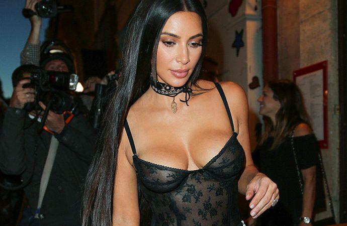Kim Kardashian is laying low on her 36th birthday