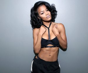 Teyana Taylor launches Fitness website !