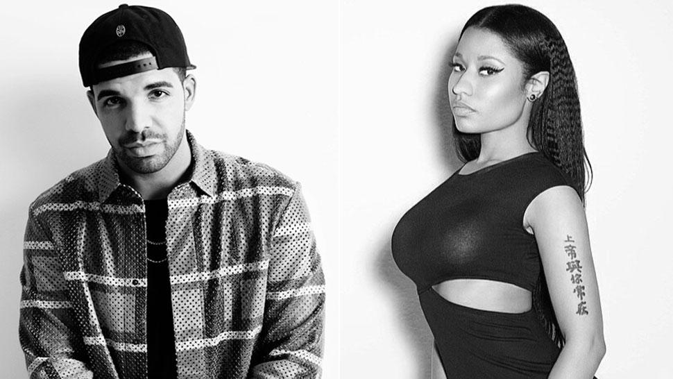Together again? Drake and Nicki Minaj show off on ...