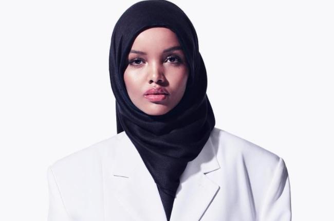 A Somali Hijabi Model walked for Kanye's Yeezy Fashion show - TRACE