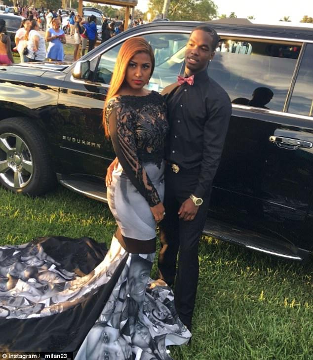 0f9b634d0e7 Prom Politics   Florida teen wears a Black Live Matters dress - TRACE