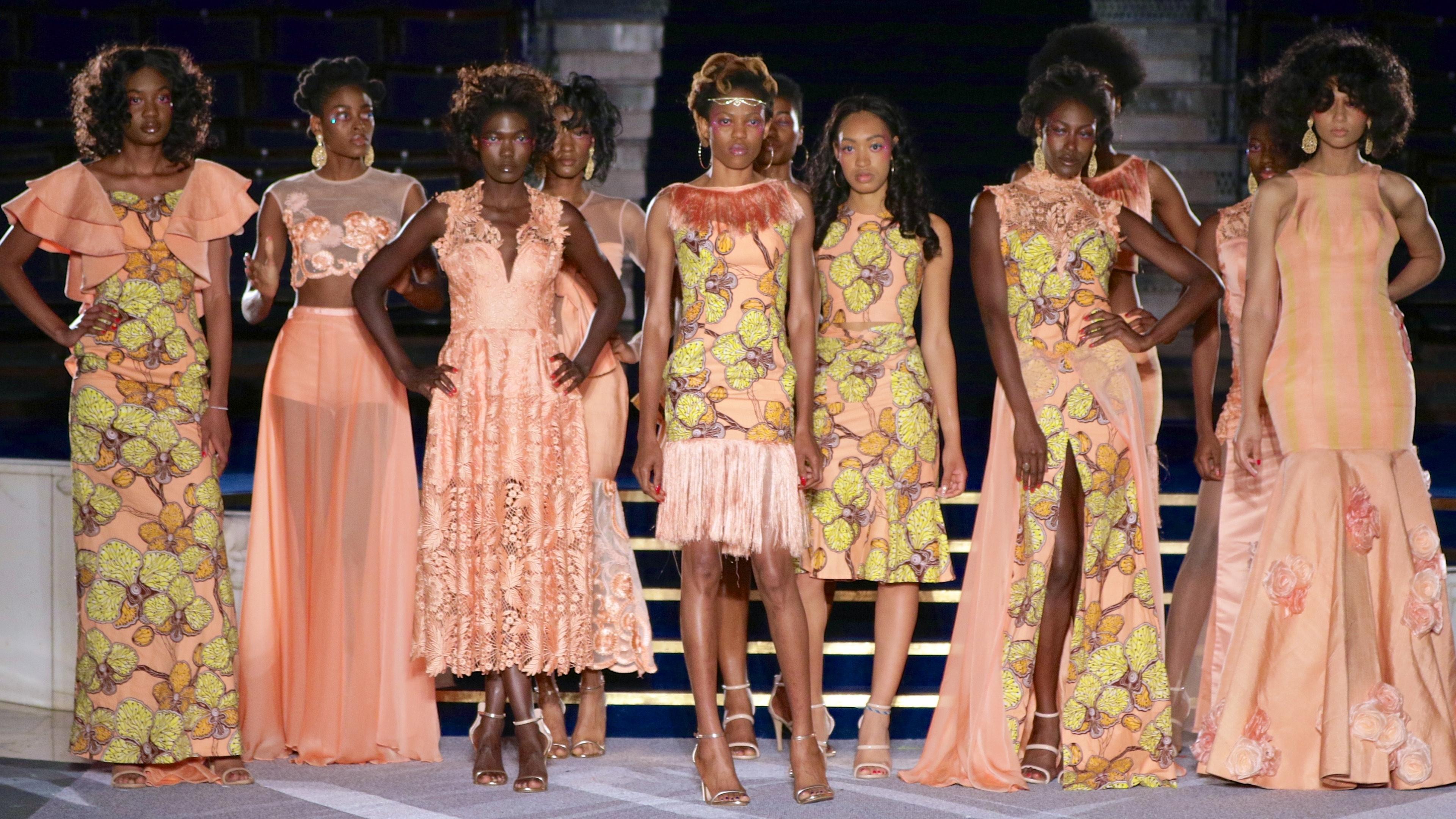 Valerie Azinge Atelier © SDR at Africa Fashion Week London 2017