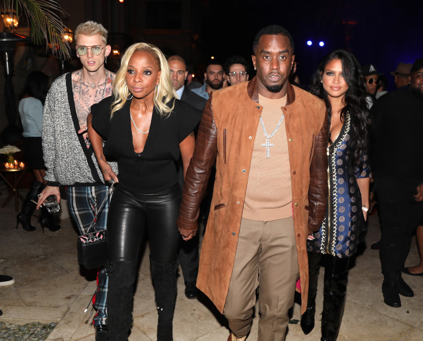 Mary J. Blige, Diddy, Cassie
