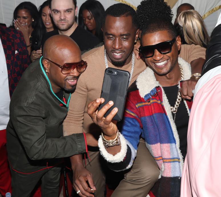 Jermaine Dupri, Diddy, Usher